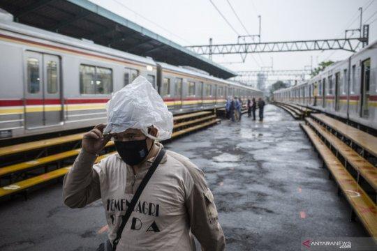KAI: Perjalanan KA jarak jauh Daop 1 Jakarta tidak terdampak banjir