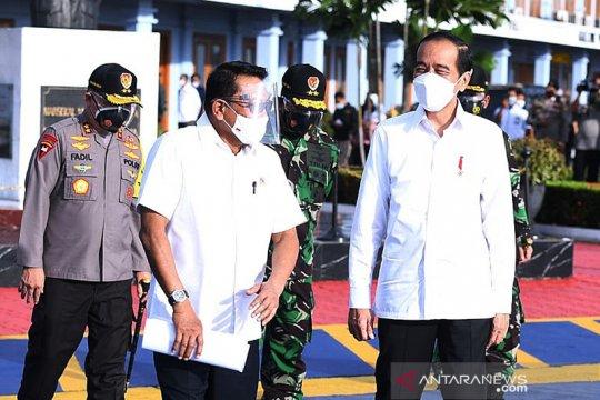 Presiden Jokowi bertolak ke Kalsel resmikan Bendungan Tapin