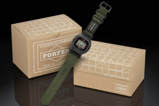 Kolaborasi jam G-SHOCK X Porter hanya dijual 10 buah
