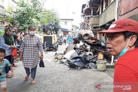 160 jiwa terkena dampak kebakaran di Kali Anyar