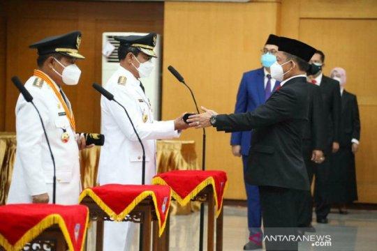 Mendagri lantik pejabat BNPP jadi Pj Gubernur Bengkulu