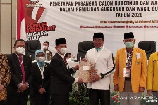 KPU tetapkan Rohidin-Rosjonsyah sebagai Gubernur dan Wagub Bengkulu