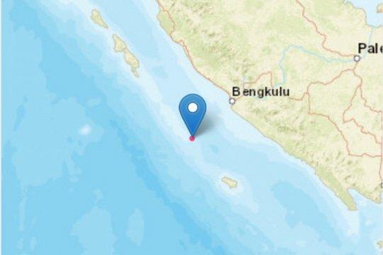 Gempa magnitudo 5,1 dirasakan cukup kuat oleh warga Kota Bengkulu