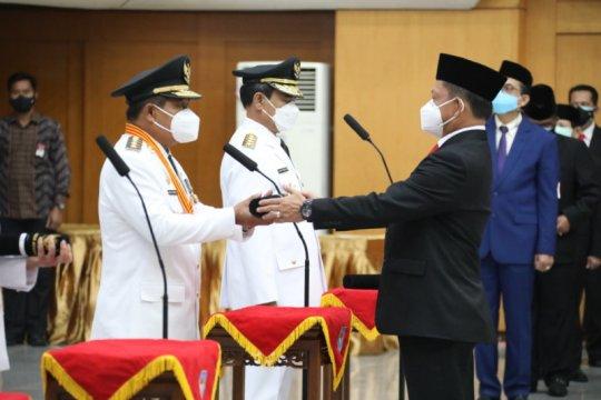 Tito Karnavian lantik Suhajar Diantoro sebagai Pj Gubernur Kepri