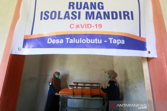Pemanfaatan dana desa untuk fasilitas isolasi mandiri pasien COVID-19
