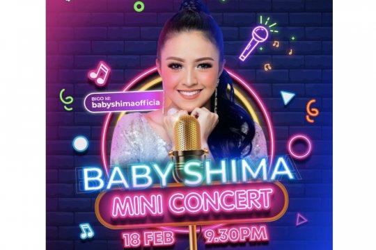 Baby Shima buat konser mini pertama di Bigo Live