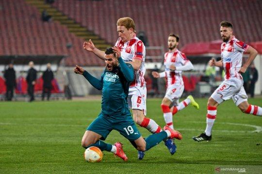 AC Milan ditahan imbang Red Star Beograd