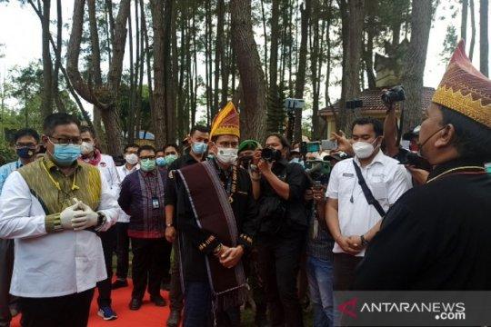Menparekraf Sandiaga Uno sambangi Taman Wisata Iman Sumut