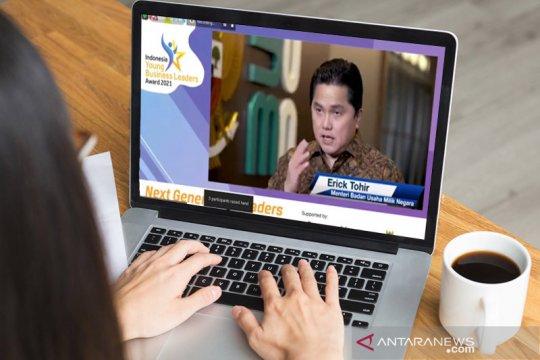 Apresiasi IYBLA 2021, Erick Thohir: Generasi muda penggerak perusahaan