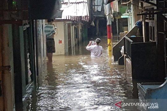 Hanya ada dua titik genangan air di Jakarta Pusat