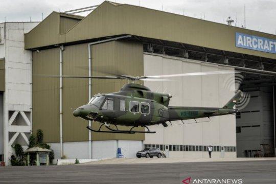 PT DI telah kirimkan tiga Helikopter Bell 412EPI kepada TNI AD