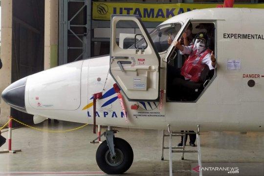 Kunjungi PTDI, Menhub sebut Indonesia butuhkan pesawat amfibi