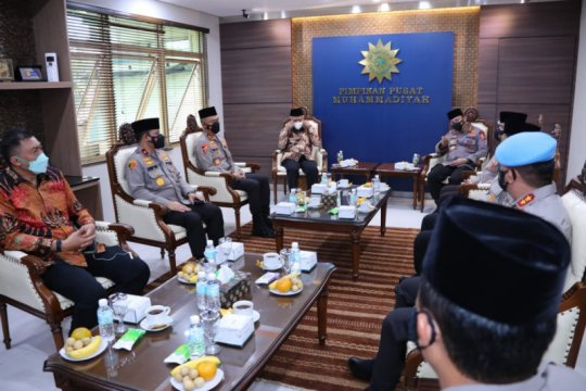 Kapolri silaturahmi ke Ketum Muhammadiyah di Yogyakarta