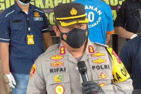 Polres Cianjur tangkap mantan kepala desa tersangka korupsi dana desa