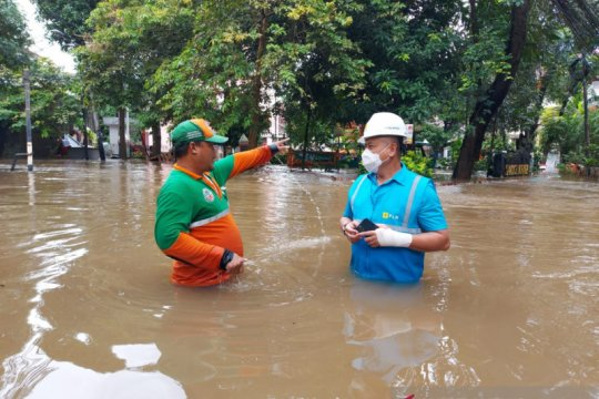 65 dari 337 unit gardu PLN yang terdampak banjir telah dipulihkan