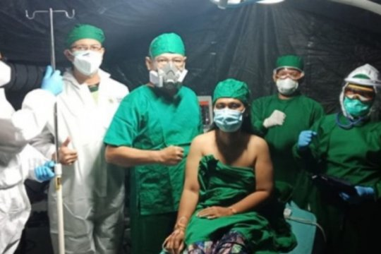 RSL TNI tangani 2089 pasien selama gempa Sulbar
