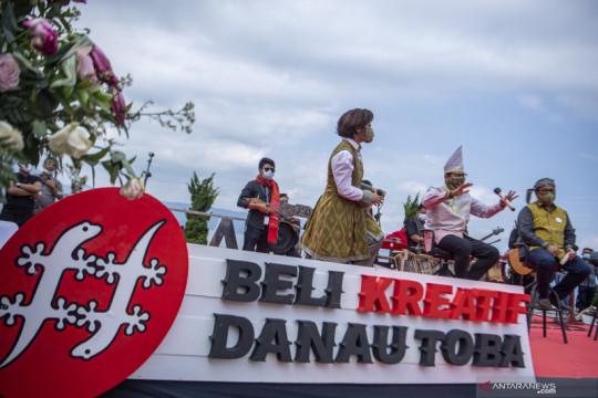 Menparekraf apresiasi tiga program pengembangan wisata Danau Toba
