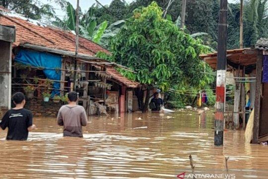 Banjir di Karawang melanda kawasan perkotaan