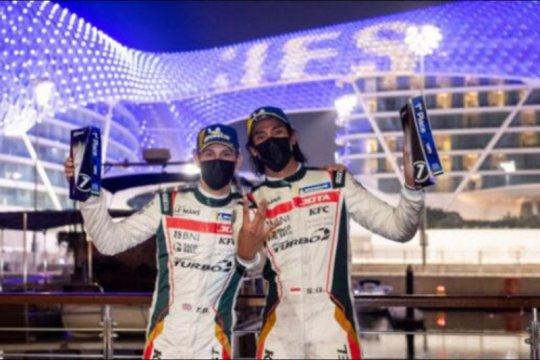 Sean Gelael bawa tim JOTA juara di Abu Dhabi