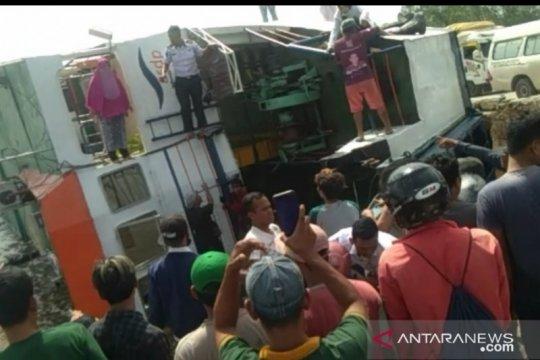 ASDP: KMP Bili terbalik di Dermaga Perigi saat proses bongkar muatan