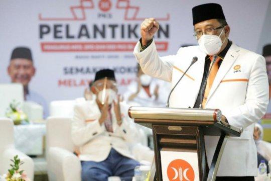 Ketua DPW PKS Jabar melantik 2.500 pengurus tingkat kota/kabupaten