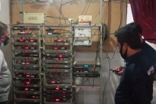 Gempa dan kantor rusak, KPID Sulbar tetap tertibkan TV kabel ilegal