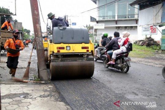 Pemkot Bogor perbaiki 34 jalan rusak, pengendara diimbau hati-hati