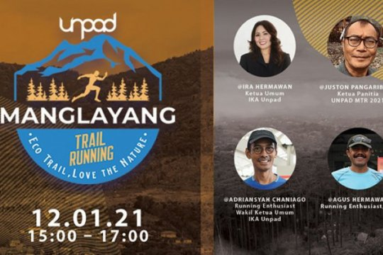 "YPI dan IKA Unpad gelar ""Manglayang Trail Running 2021"""