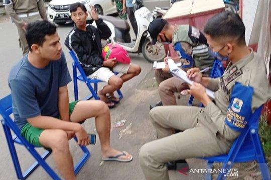 Satgas COVID-19 Lebak, Banten gelar razia masker, didenda dan dihukum