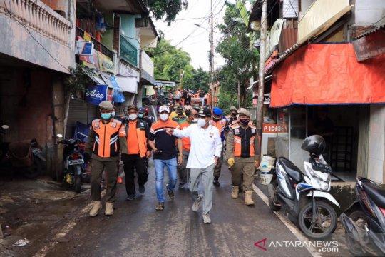 Seluruh wilayah di Jakarta Pusat sudah bebas dari banjir
