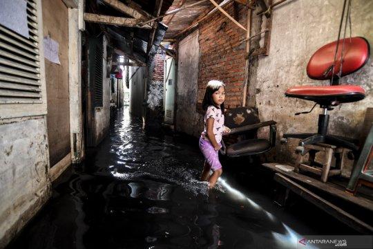 Delapan kelurahan terdampak banjir di Jakarta Barat