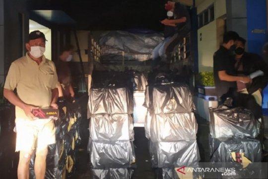 Bea Cukai Kudus gerebek rumah penimbun rokok ilegal di Demak