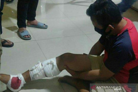 Polisi tembak kaki penculik anak di Palembang