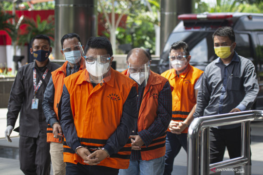 Sespri dan staf khusus Edhy Prabowo dieksekusi ke Lapas Sukamiskin