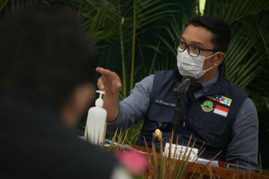 Ridwan Kamil-Sandiaga Uno bahas kolaborasi pariwisata saat pandemi