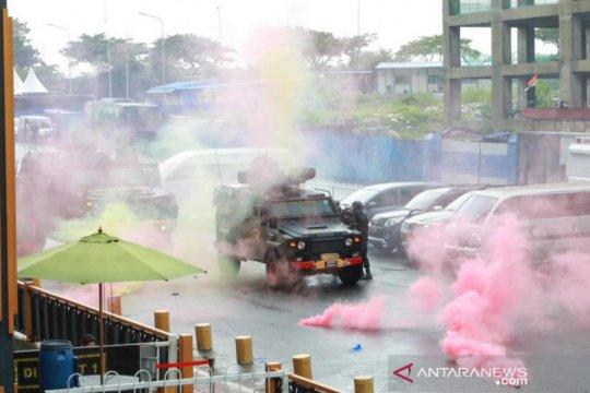 "Pasukan Gegana Korps Brimob Polri latihan ""urban warfare"" di Meikarta"