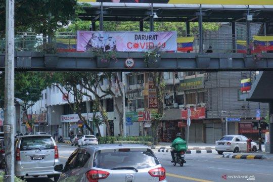 Kasus harian COVID-19 di Malaysia menurun