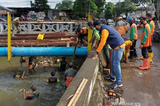 Banjir di Jakarta Selatan sudah surut seluruhnya
