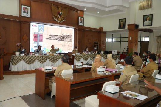 Direktorat III KPK lakukan rakor monev dengan Pemkab Sleman