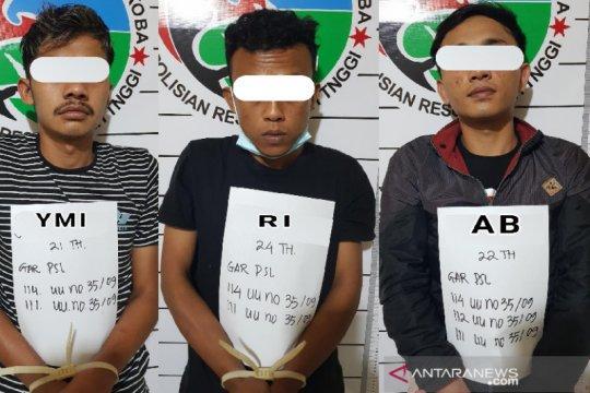 Polres Bukittinggi tangkap tiga remaja diduga terlibat kasus narkoba