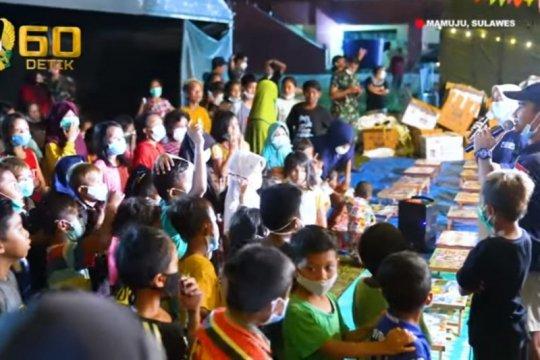 """TNI AD berikan """"healing treatment"""" bagi anak korban gempa Mamuju"""