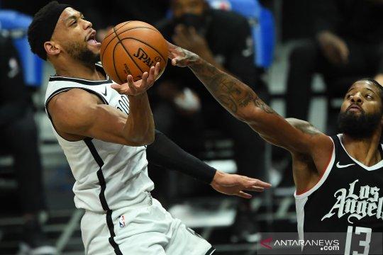 NBA: Nets kalahkan LA  Clippers 112 - 108