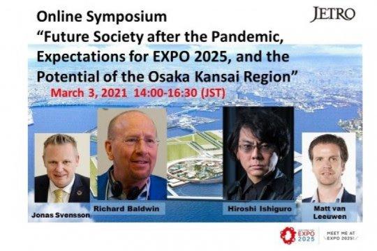 Simposium online JETRO - Masyarakat Masa Depan Setelah Pandemi