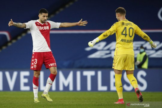 Liga Prancis: Monaco kalahkan PSG 2-0
