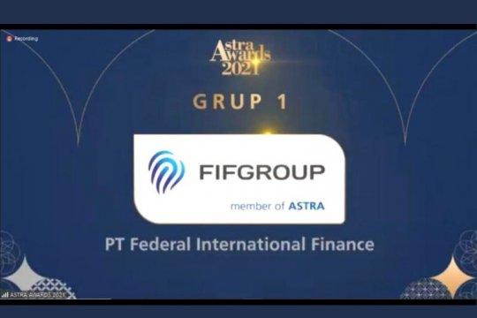 FIFGROUP terpilih sebagai perusahaan terbaik dalam Astra Awards 2021