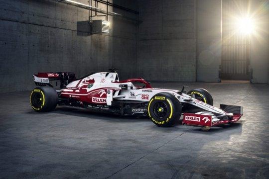 Alfa Romeo luncurkan mobil baru untuk F1 2021