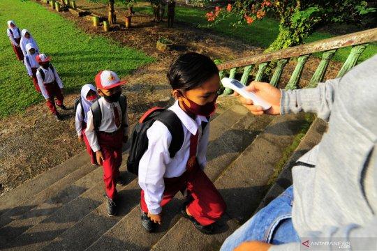 Sekolah di Jambi mulai belajar tatap muka