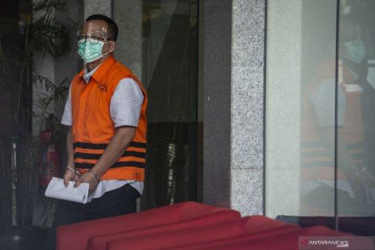 Edhy Prabowo akui pinjam kartu kredit belanja barang mewah di AS