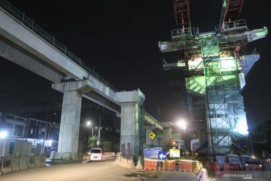 Progres pembangunan enam ruas tol dalam kota Jakarta