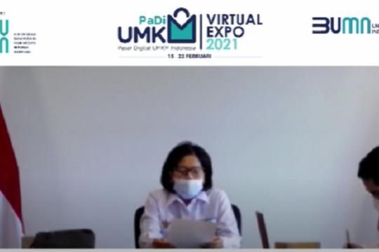 PaDi UMKM Virtual Expo 2021 catatkan 1.800 frekuensi transaksi